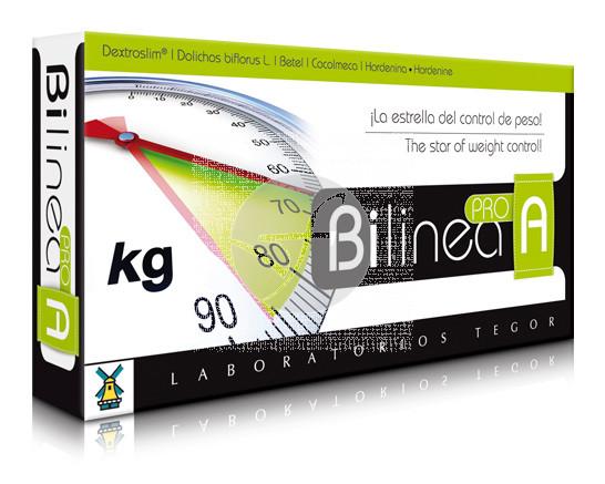 Bilinea Pro A control De Peso 40 capsulas Tegor