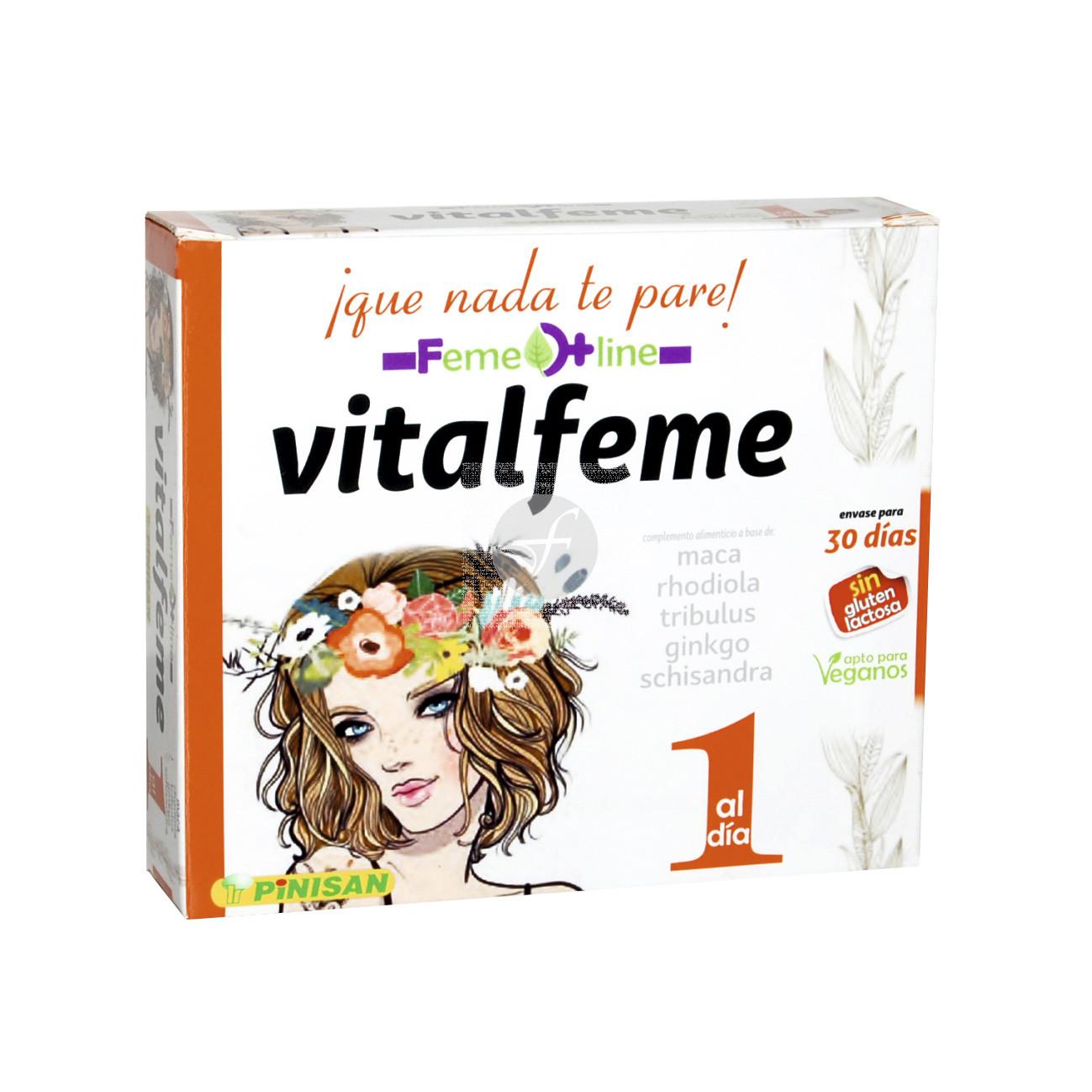 Vitalfeme vitalidad Feme Line 30 cápsulas Pinisan