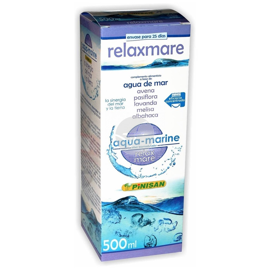 Relaxmare Agua De Mar 500ml Pinisan