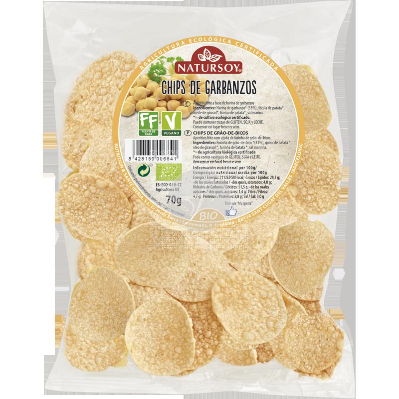 Chips de garbanzos bio Natursoy
