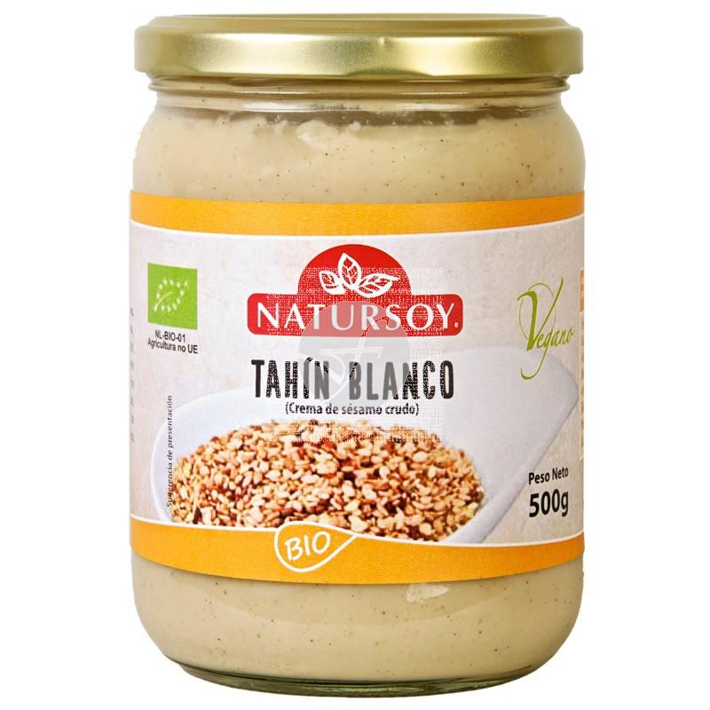 TAHIN BLANCO BIO 500GR NATURSOY