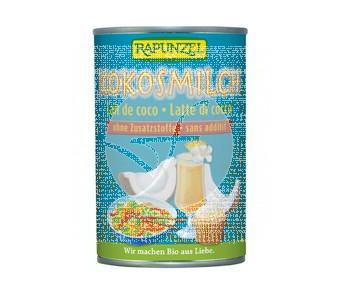 Bebida vegetal de coco para cocinar bio 400ml Rapunzel
