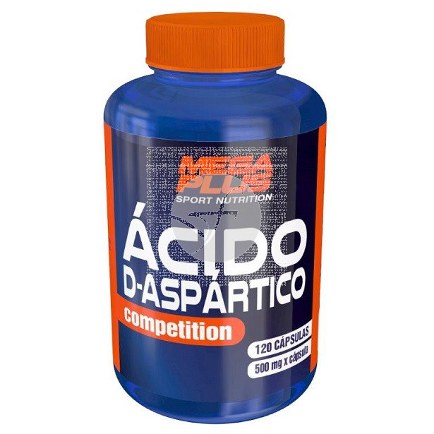 ACIDO D-ASPARTICO COMPETITION 120 CAPSULAS MEGAPLUS