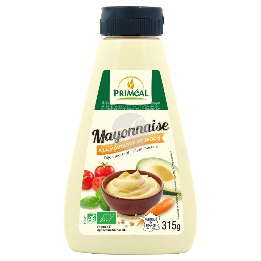 Mayonesa a la mostaza de Dijon bio Primeal