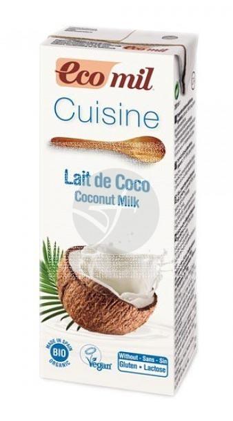 LECHE DE COCO BIO PARA COCINAR ECOMIL