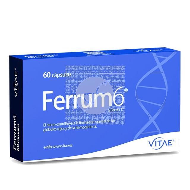 FERRUM 6  60 CAPSULAS VITAE