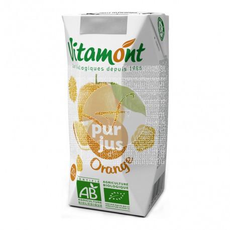 Zumo de naranja sin azucar bio Vitamont