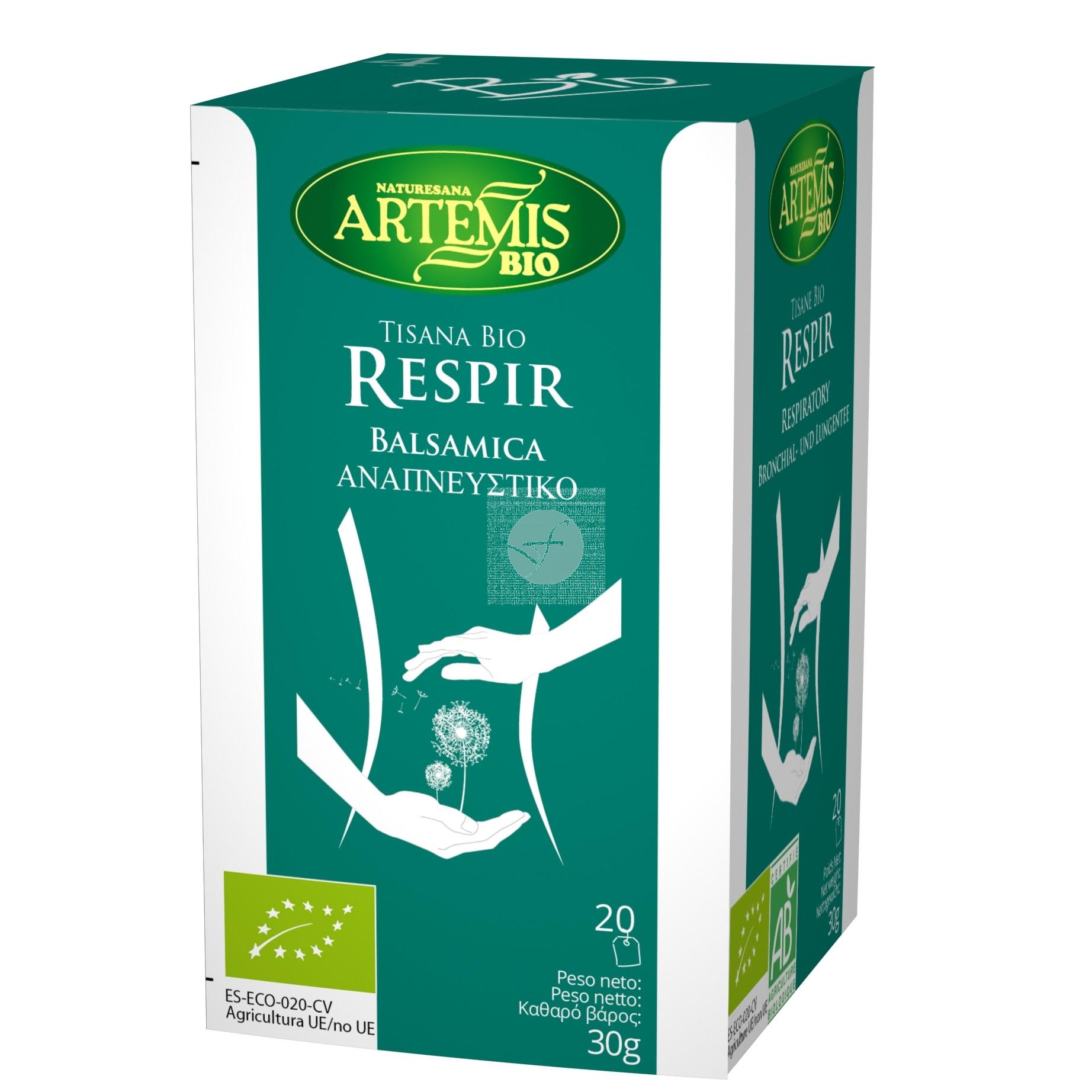 Infusión Tisana Bio Respir Artemis