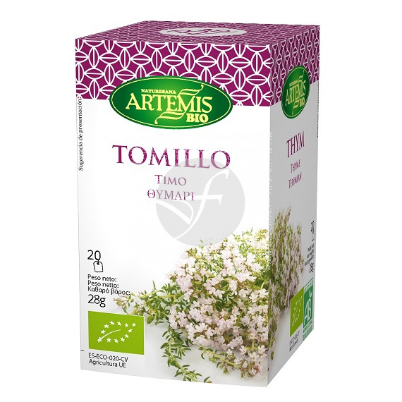 Tomillo Infusión Bio Artemis