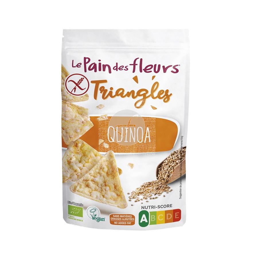 Triangulos de maiz y quinoa 50gr Le Pain des Fleurs