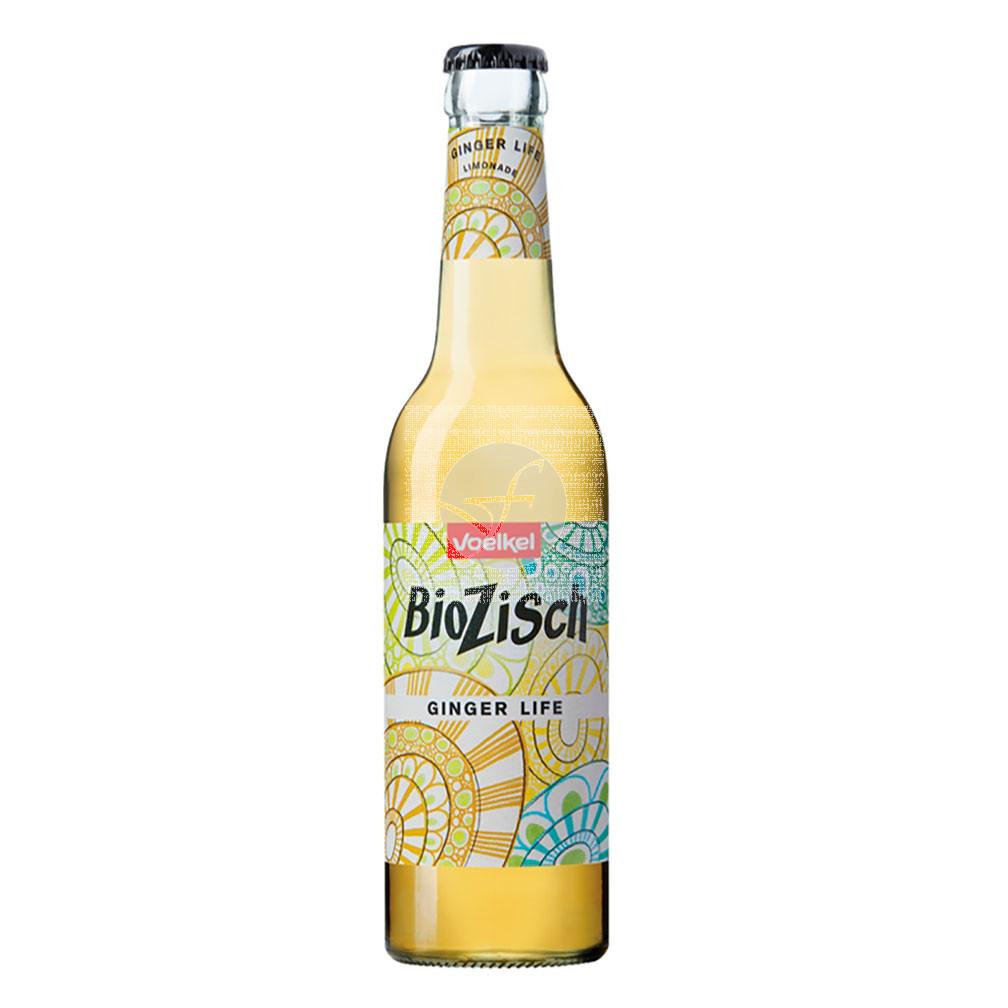 Refresco jengibre life Bio 330 ml Biozisch Voelkel