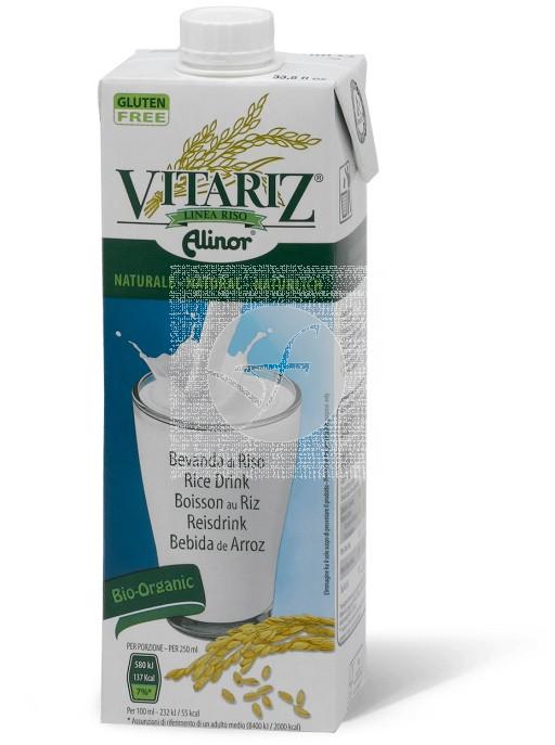 Bebida vegetal de arroz bio 1L Vitariz