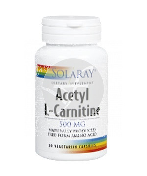 ACETIL L-CARNITINA 500MG SOLARAY