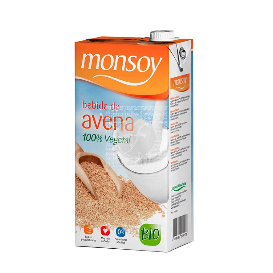 LECHE DE AVENA BIO 1L MONSOY