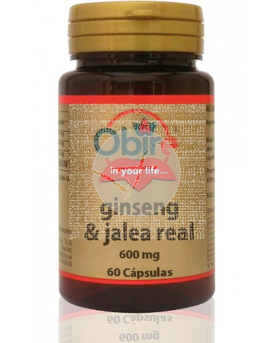 GINSENG Y JALEA REAL 600MG OBIRE