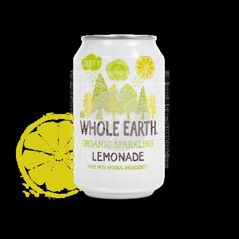Refresco Bio de limón Whole Earth