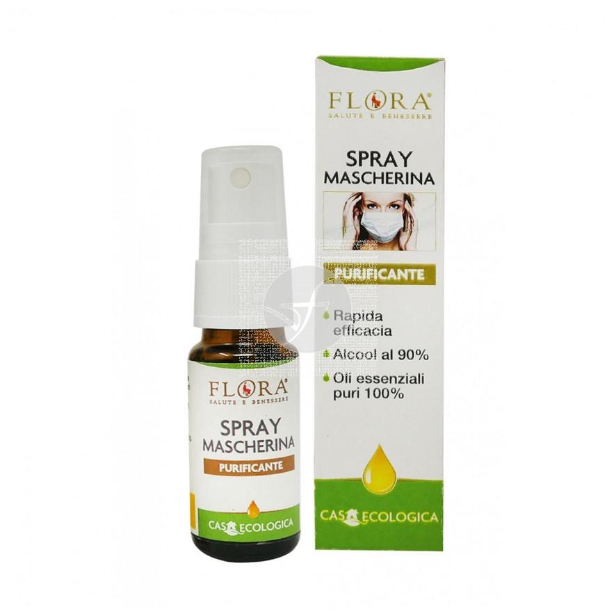 Spray higienizante mascarillas Faciales 10ml Flora