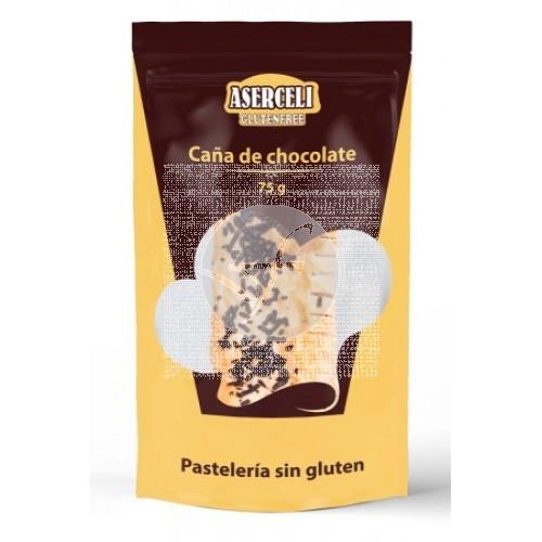 CAÑAS DE CHOCOLATE SIN GLUTEN ASERCELI