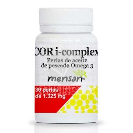 Cor I-Complex Omega 3 30 perlas Mensan