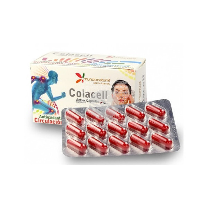 Colacell Antiox 90 capsulas Mundonatural