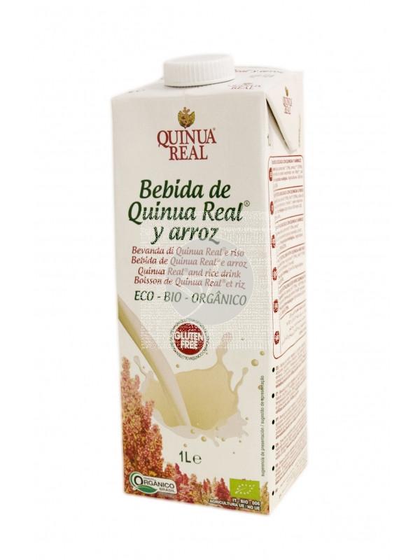 Bebida vegetal de quinoa y arroz bio 1l Quinua Real