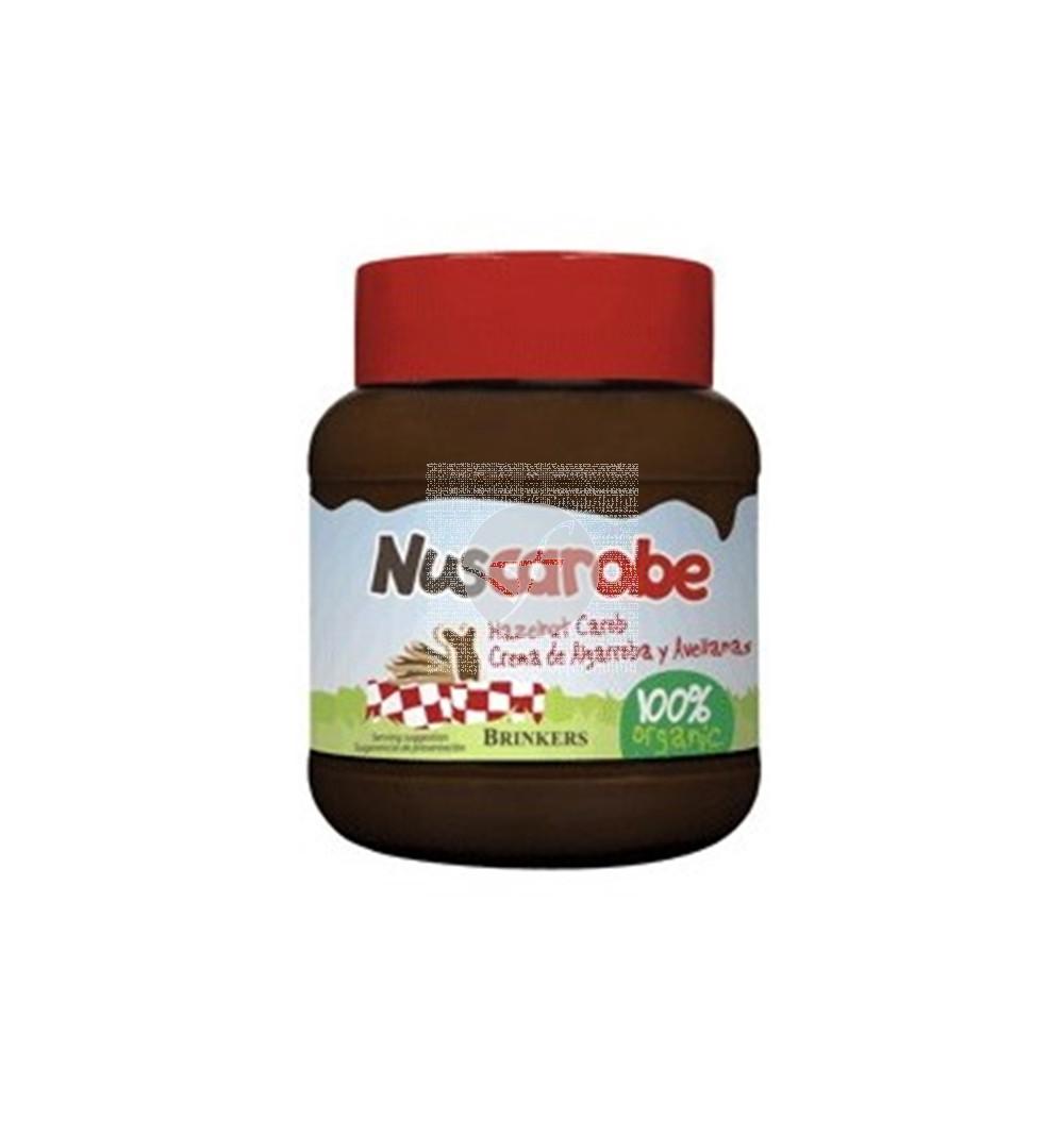 Crema algarroba avellanas 400gr Nuscarobe