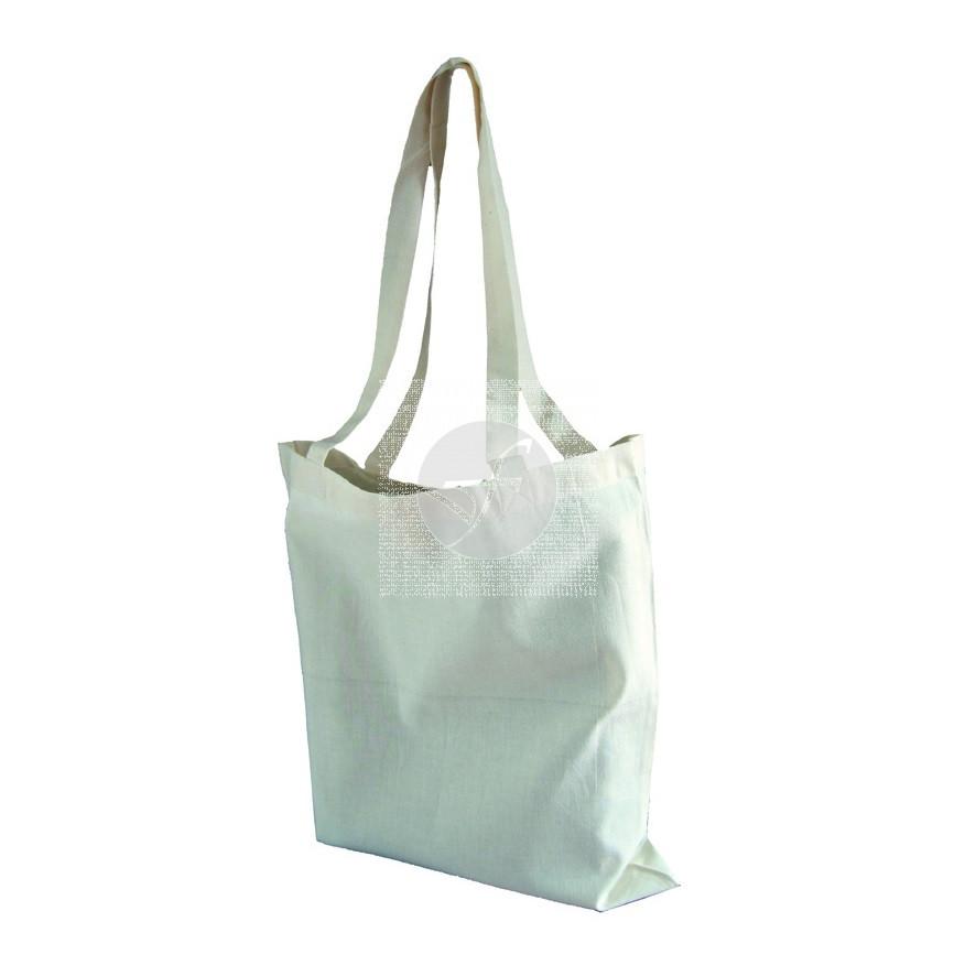Bolsa con asas de algodón ecológico Ecodis