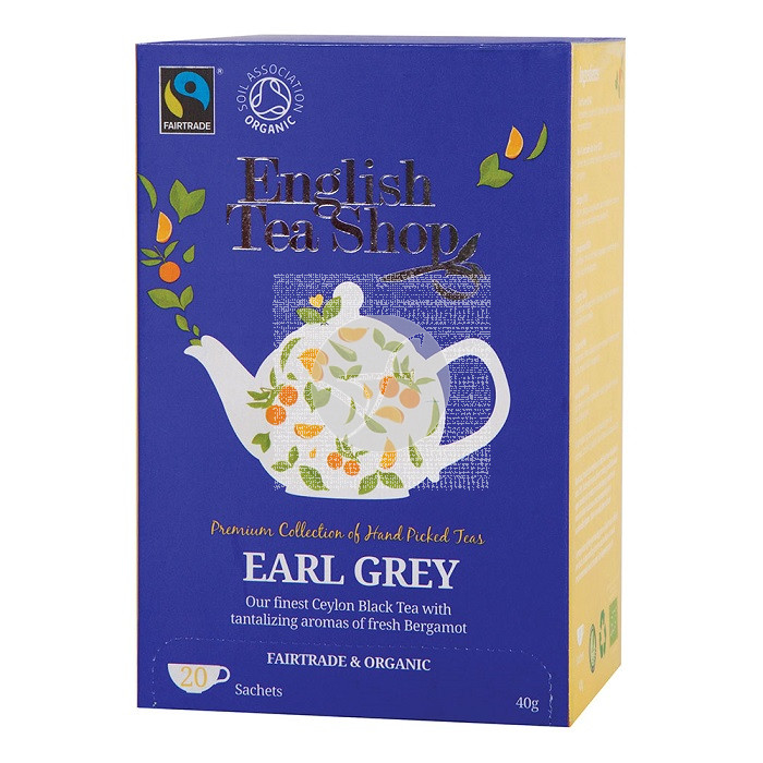 TE EARL GREY BIO TE ENGLISH TEA SHOP