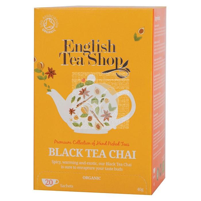 TE NEGRO CHAI BIO TE ENGLISH TEA SHOP
