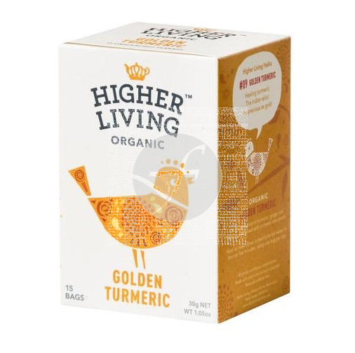 Infusion curcuma dorada Bio Higher Living