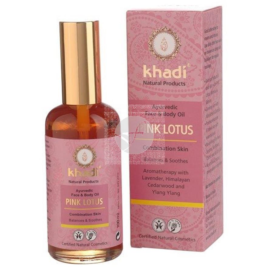 Aceite de loto rosado 100 ml Khadi
