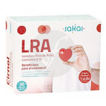 Lra Levadura Roja De Arroz Coenzima Q10 Colesterol Sakai