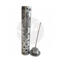 Incensario De Aluminio Tubo Redondo Radhe