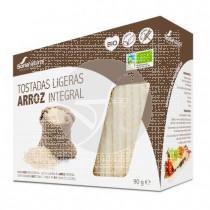 Tostadas Ligeras De Arroz integral Bio sin gluten Soria Natural