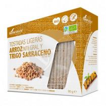 Tostadas Ligeras De Arroz integral y Trigo Sarraceno Soria Natural