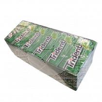 Chicles sin azúcar sabor Hierbabuena Trident