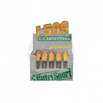 CARNITINA VIALES 1500MG FRESA NUTRISPORT
