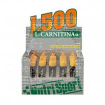 L-carnitina 1500mg viales naranja Nutri-Sport