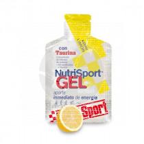 Gel con Taurina sabor Limon NutriSport