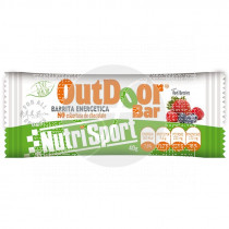 BARRITA ENERGETICA OUTDOOR RED BERRIES NUTRISPORT