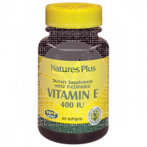Vitamina E 400Ui perlas Nature'S Plus