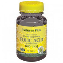 ACIDO FOLICO COMPRIMIDOS 800MG NATURE'S PLUS