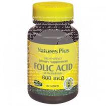 Acido Folico comprimidos 800Mg Nature'S Plus