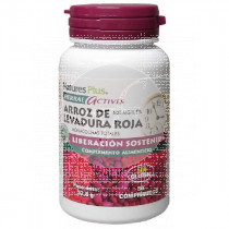 Levadura Roja De Arroz Red yeast Rice 600Mg 30 perlas Nature'S Plus