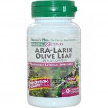 Ara-Larix Olive Leaf 30 comprimidos Nature'S Plus