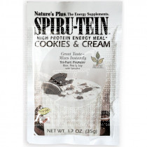 SPIRUTEIN COOKIES CREAM 35GR SOBRES NATURE'S PLUS