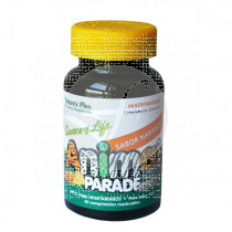 ANIMAL PARADE MULTIVITAMINICO SABOR NARANJA NATURE'S PLUS MASTICABLE