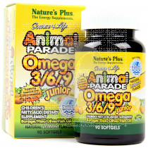 ANIMAL PARADE OMEGA 369 JUNIOR NATURE'S PLUS