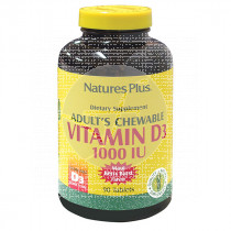 Vitamina D3 1000Ui comprimidos masticables Nature'S Plus