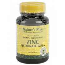 Picolinato De Zinc 120 comprimidos Nature'S Plus
